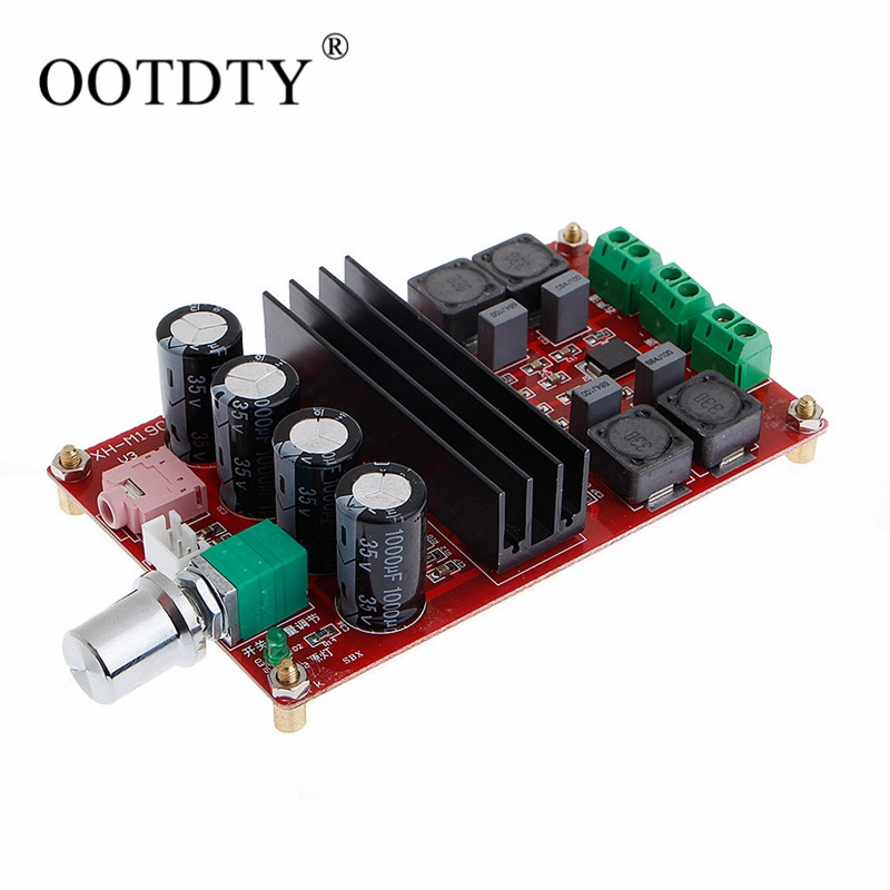 2x100W 2 Channel Digital Amplifier Audio Board Dual Channel 12 to 24V Audio Amplifier board DIY Module for Arduino TPA3116D2