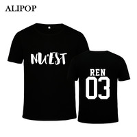 Alipop KPOP Korean Fashion NUEST NU EST After School Boys Pledis Boys Album CANVAS Cotton Tshirt