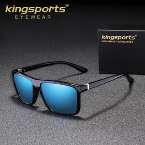 861c6ecdb6 KINGSPORTS 2018 Classic Polarized Sunglasses Men Glasses Driving Coating  Black Frame Fishing Driving Eyewear Male Sun Glasses