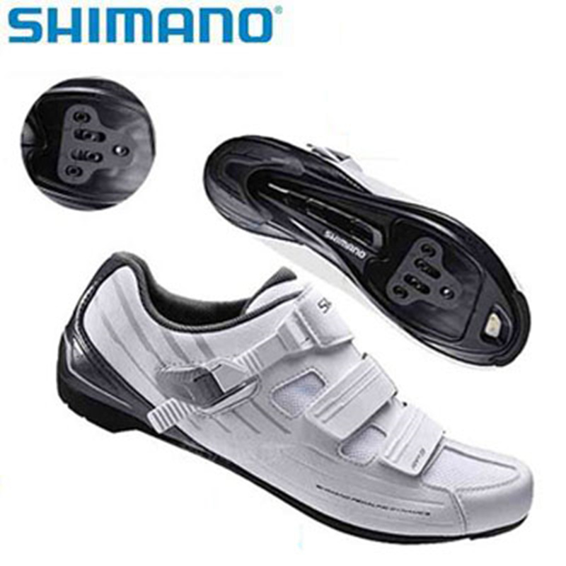 Shimano MTB Road SH-RP2 / RP3 SPD-SL Dynalast Bicycle Men And Women Ventilation Shoes Black White Mountain Road Universal HOT
