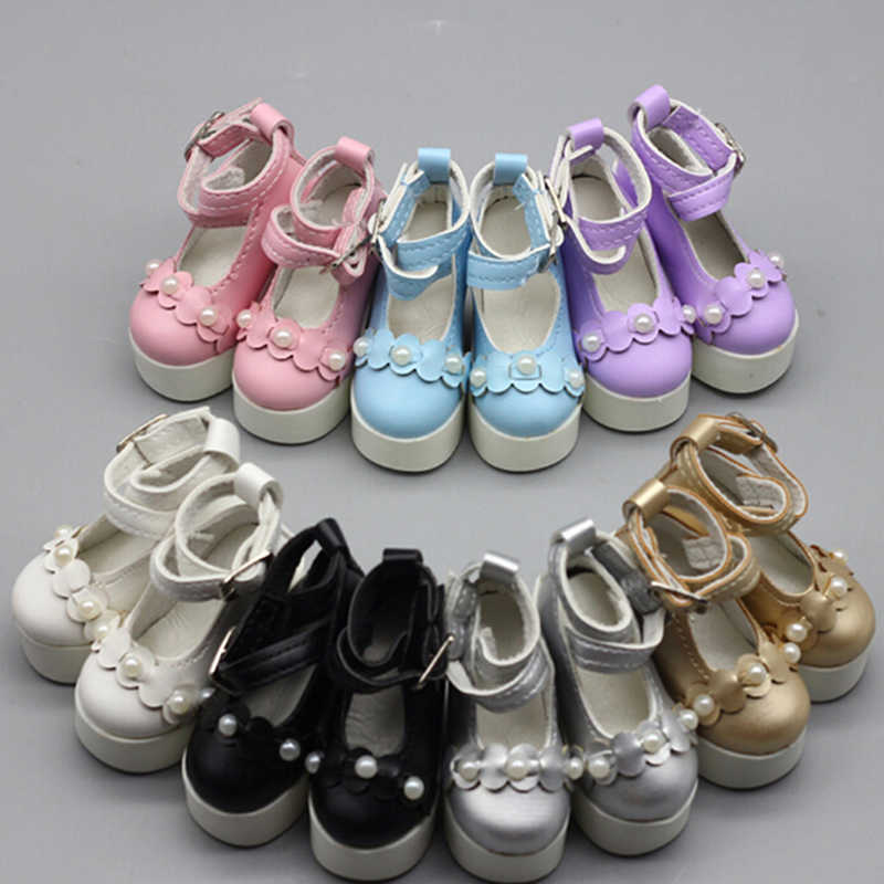 1pair Assorted Colors Princess High Heel Shoes Doll Boots Fit For 1/3 1/4 BJD 60cm SD DD DOD Dolls