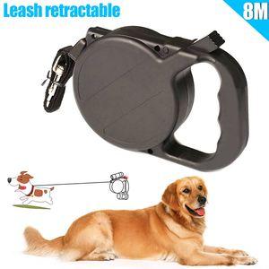 8 M Halsband Leash Automatische Intrekbare Puppy Patrol Touw Tractie Dierbenodigdheden Voor Grote Honden Middelgrote Kleinere Honden(China)