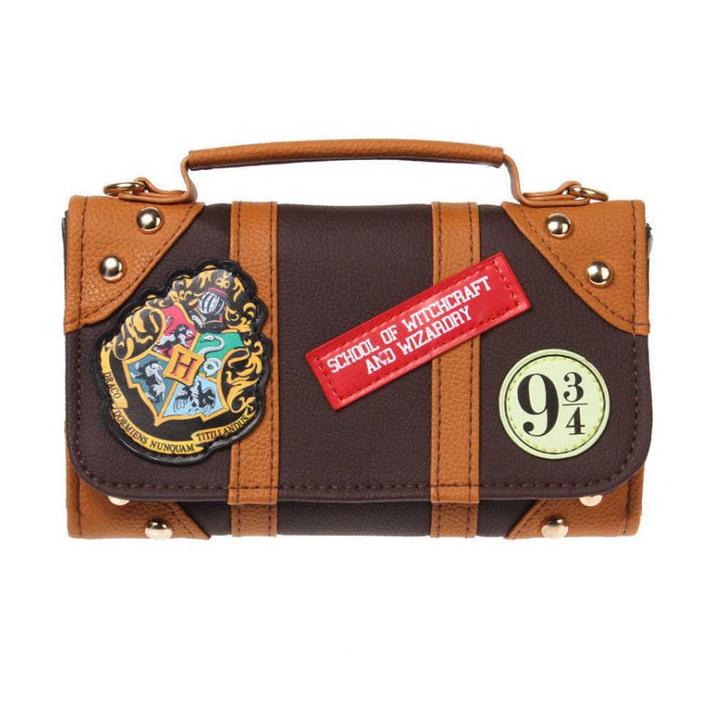 43717b138743f Offical Harry Potter Hogwarts PU Chain Crossbody bag Small shoulder bag  shoulder bags Dual function of