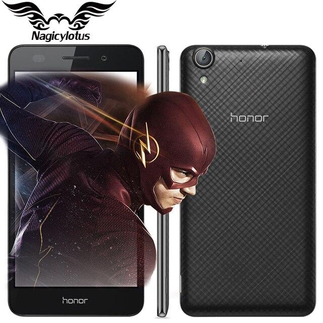 """Новый оригинальный huawei honor 5a играть 4 г lte snapdragon 617 окта основные android 6.0 5.5 """"IPS 1280X720 2 ГБ RAM 16 ГБ ROM Мобильный Телефон"""