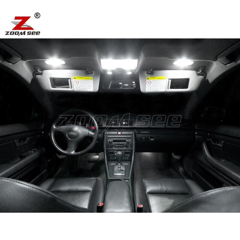 20 pc x Canbus LED lampu interior kubah peta cahaya Kit Paket untuk - Lampu mobil - Foto 2