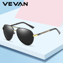 VEVAN Classic Pilot Sunglasses Men Polarized UV400 Vintage Sun Glasses Male Driving oculos de sol masculino Alloy Sunglass Retro