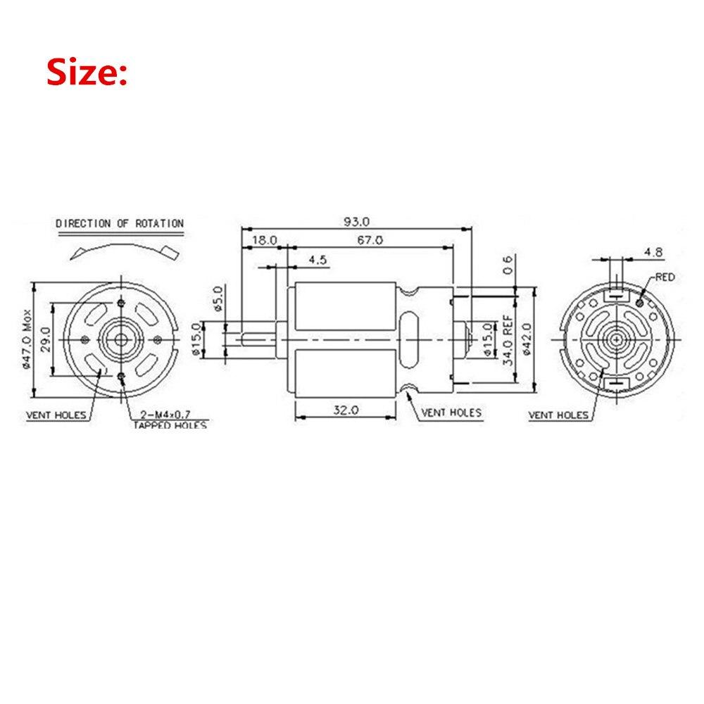12 V 0 2 Amp Dc Tanpa Sikat 7 Bilah Kipas Pendingin Dengan Kabel 8025 Kualitas Tinggi 775 High Torque Mini Motor 24 180 W