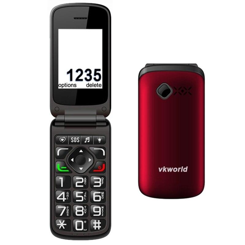 Original VKworld Z2 Cell Phone Dual SIM Card 2 4 inch 0 3MP Camera 800mAh Large