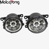2 Pcs Set 6000K CCC 12V Car Styling DRL Fog Lamps Lighting LED Lights For Suzuki