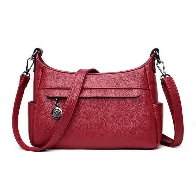 Designer Handbags High Qualiry Shoulder Bag Lady Luxury Genuine Leather Bag  Women Messenger Crossbody Bags Bolsos Feminina 0113e7b3daff2