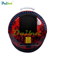 Daibot One Wheel Electric Hoverboard Bluetooth Unicycle Monowheel Self Balancing Scooter Skateboard Hoverboard with LED lights