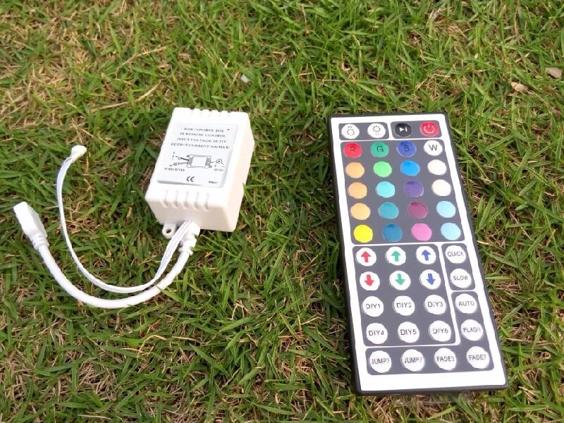 dc 12v 44keys ir remote controllers for christmas lighting rgb strip smd 5050 3528 strips ribbon light holiday party ktv ce rosh