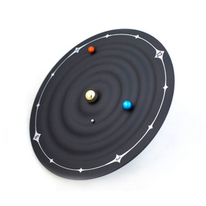Image 5 - Creative Table Alarm Clocks Modern Design Orbit Galaxy Magnetic Clocks Planet Ball Desk Watches Wall Mounted/Desktop Home Decor
