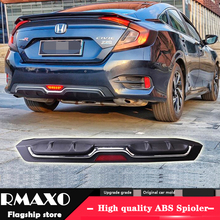 For Honda Civic Abs Rear Per Diffuser Pers Protector 2016 2018 Body Kit