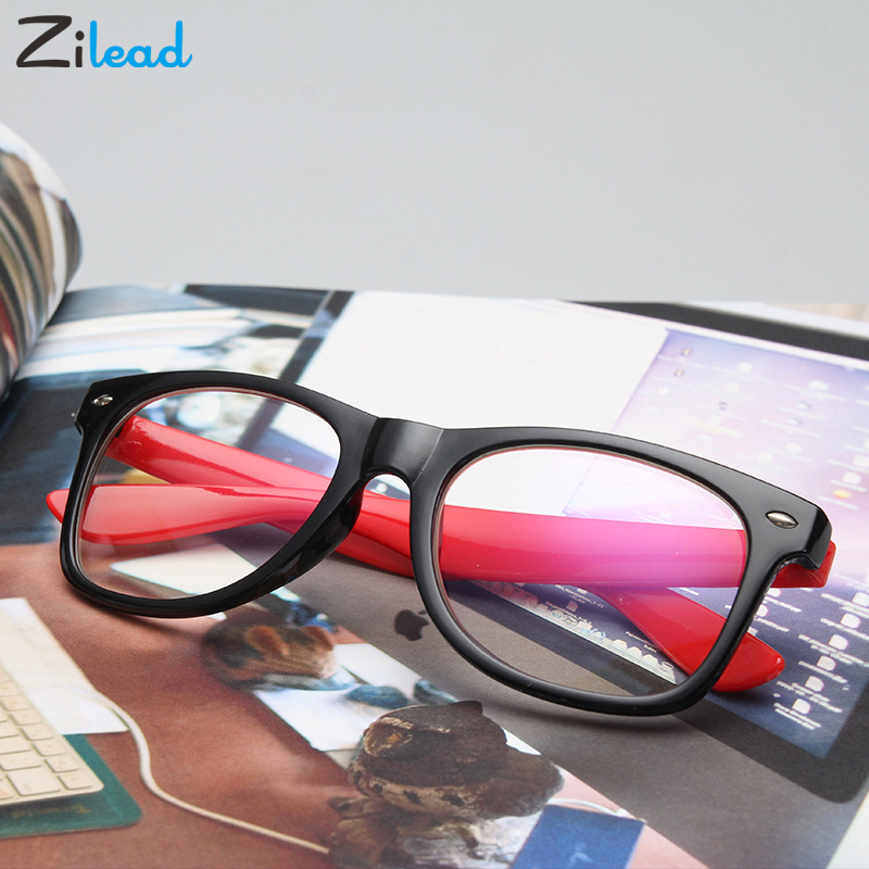 Zilead New Fashion Anti Blue Rays Reading Glasses Brand Design Classical Driving Men Style Fashion Women Shade Sunlight  Frame