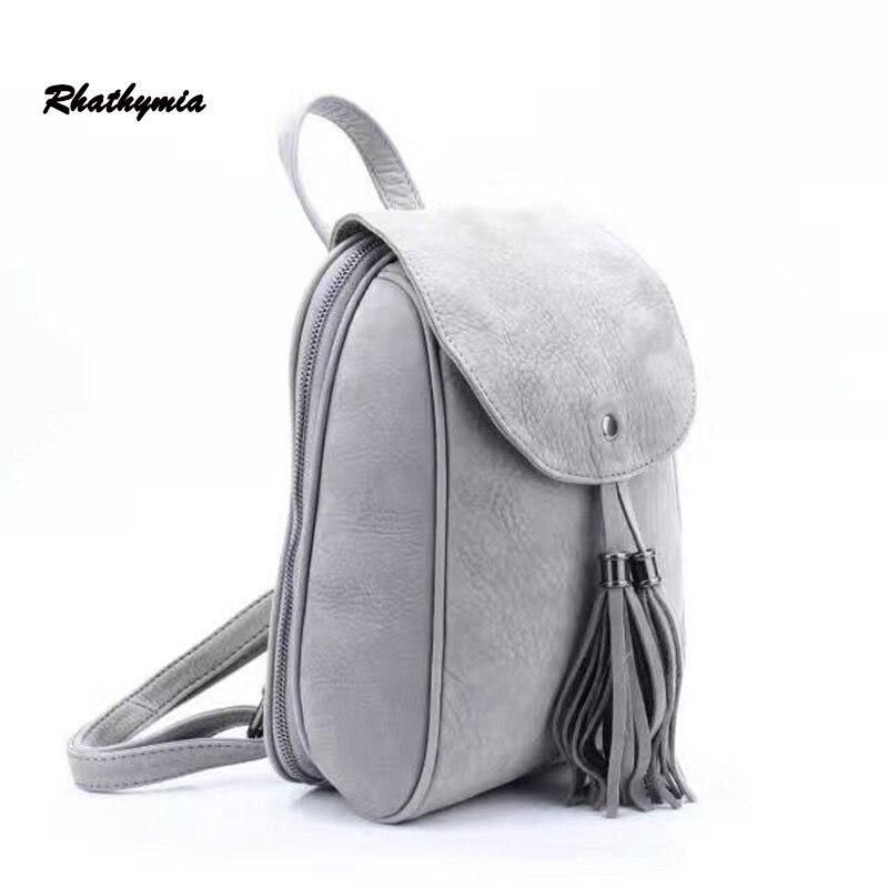 small font b Backpack b font font b Women b font Genuine Leather Bag font b