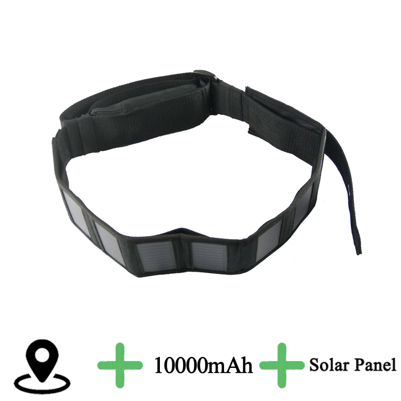 Solar panels GPS Tracker for Big Animal Cow Horse Waterproof Collar WCDMA 3G OR 2G Tracker