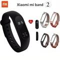 New Original Xiaomi Mi Band 2 Wristband Bracelet OLED Display Touchpad Smart Heart Rate Monitor Bluetooth Fitness Tracker