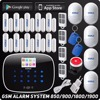 Kerui IOS Android APP Wireless GSM Alarm System TFT Color Display Autodial Text Burglar IntruderSecurity Alarm