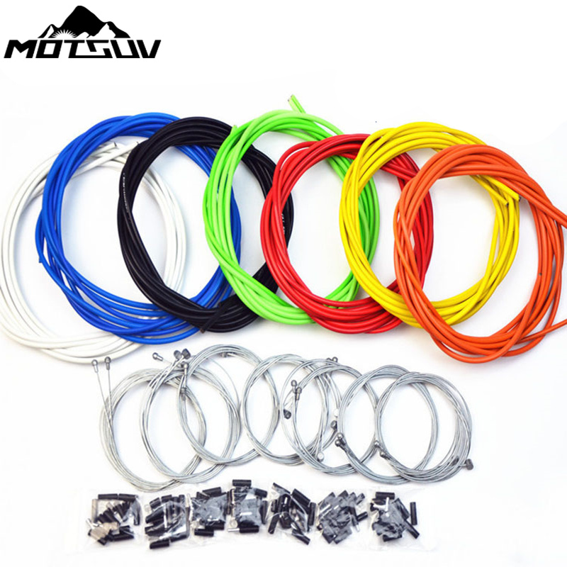 Bicycle Cable sets Housing Cable Hose Kit Brake Shifter For Sram Bike Bicycle derailleur Brake Cable & Shifting Lever Wire Line цена 2017
