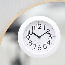 Black Small Wall Clock Simple Modern Design Electronic Watches Home Decor Reloj Pared Moderno Zegary Saat 50K566