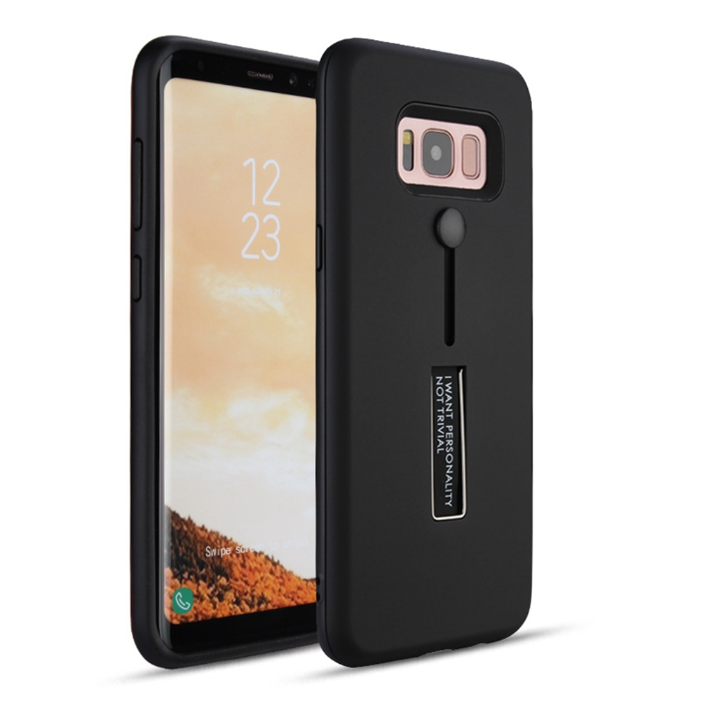 UTOPER Case For Samsung Galaxy S8 Case Stealth Bracket Holder Ring Cover For Samsung S8 S9 Plus