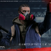 For Collection 1/6VM 022 THE DARKZONE RIOTER 12 Inches Action Figure Model Full Set Action Figure