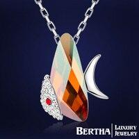 Batı Moda Balık Bildirimi Kolye Aksesuarları Kadınlar Için Lady Takı Nikel Ücretsiz Dostluk Collares Kostüm Mücevher