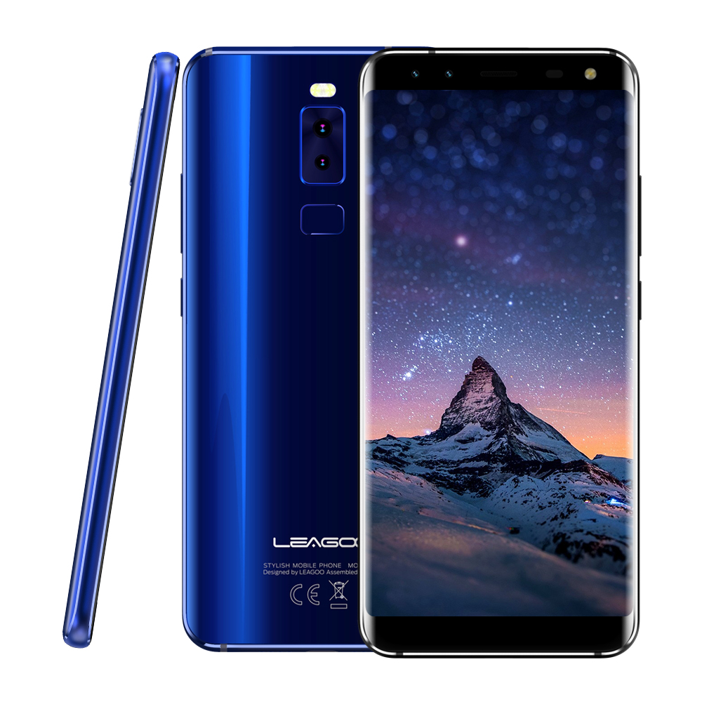 Original LEAGOO S8 Four Cams Android 7 0 5 7 HD IPS Screen Octa Core 1