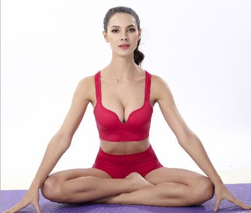 3D Seamless sleeping female models font b sports b font underwear thin section no rims running