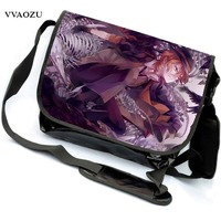 Hohe Qualität Anime Bungou Streunende Hunde Männer Reisetaschen Leinwand Mode Frauen Schulter Messenger Sling Taschen Bolsa Feminina