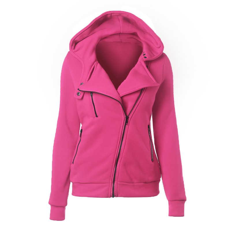 ed2506797b ... 2018 Autumn Winter Jacket Women Coat Casual Girls Basic Jackets Zipper  Cardigan Sleeveless Jacket Female Coats ...