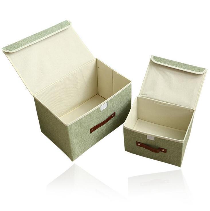 Einfarbig kleine frische aufbewahrungsbox Behälter Schrank Boxen ...