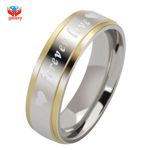 Yhamni Unique Forever Love Carved Wedding Rings For Men And Women
