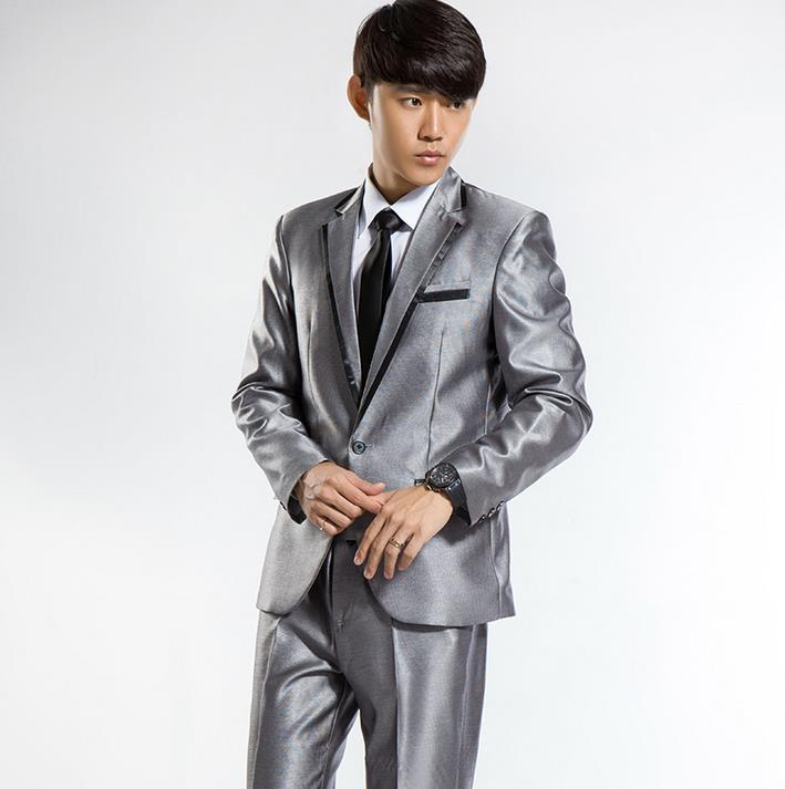 Popular Fitted Charcoal Grey Suit-Buy Cheap Fitted Charcoal Grey ...