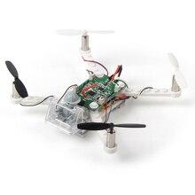EBOYU(TM) X-101 DIY Дрон строительные блоки 2,4 ГГц пульт дистанционного управления Дрон, создайте его самостоятельно и летите, 48 штук