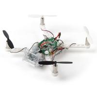 EBOYU(TM) X 101 DIY Drone Building Blocks 2.4GHz Remote Control Drone, Build it Yourself and Fly, 48 Pieces