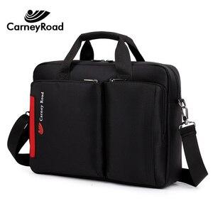 Image 3 - Carneyroad nova moda 12 13 14 15 polegada portátil bolsas para homens mulheres de alta qualidade à prova dwaterproof água negócios mensageiro pastas