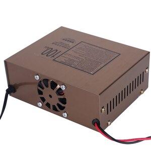 Image 5 - Carregador de Bateria de carro 12v 24v Tipo de Reparação de Pulso Inteligente Carregador de Bateria de Carro Elétrico Automático Completo 100AH para Motocicleta