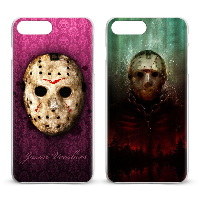 Jason Voorhees Friday the 13th For Apple iPhone X 8Plus 8 7Plus 7 6sPlus 6s 6Plus 6 5 5S SE 4S 4 Coque Mobile Phone Case Cover ...