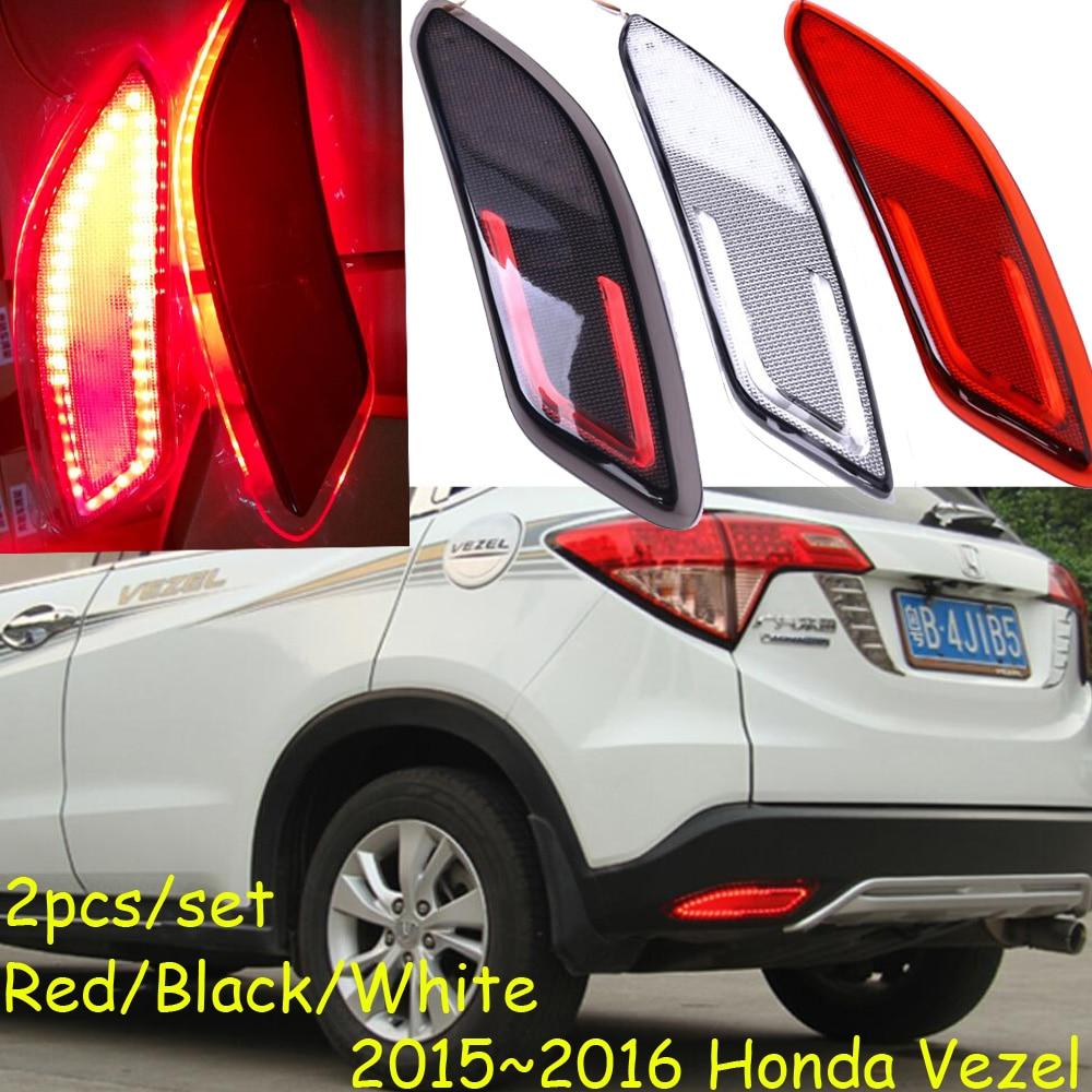 Vezel Rear light,HR-V,LED,2014~2016,Vezel headlight,Crosstour,BRV fog light,Free ship! Vezel taillamp,HRV,HR V