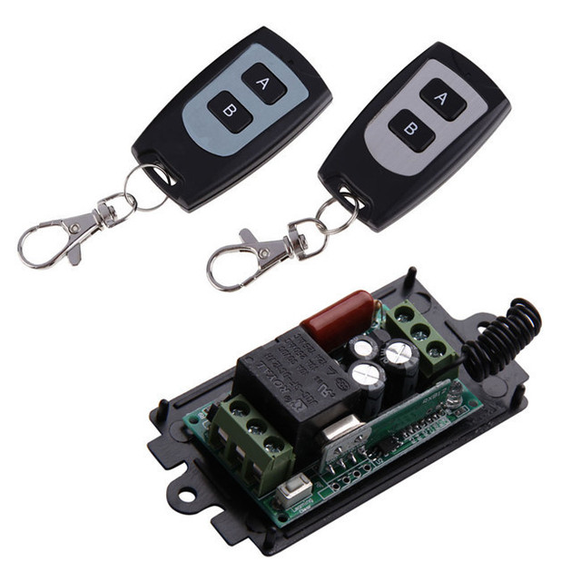 7cfea15c73d Fácil de instalar 1 Canales de Relé de 220 V 10A de Control Remoto  Inteligente 433