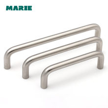 96-160mm Stainless Steel Furniture Handle Cabinet Knobs and Handles Door Pull For Kitchen Cupboard Drawer