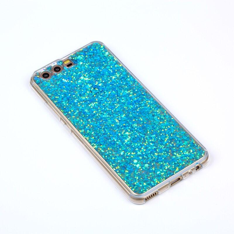 Fashion Glitter Bling Cover för Huawei P10 väska Candy Colourful - Reservdelar och tillbehör för mobiltelefoner - Foto 2
