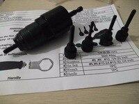 SAE Szie 6 32 Electric Rivet Nut Gun Steel And Alu Battery Riveter Adapter SAE Insert