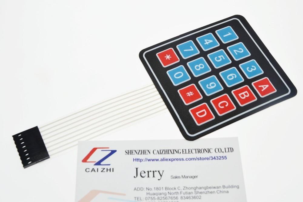 New 16 Key 4 x 4 Membrane Switch Keypad 4x4 4*4 Matrix Array Matrix keyboard