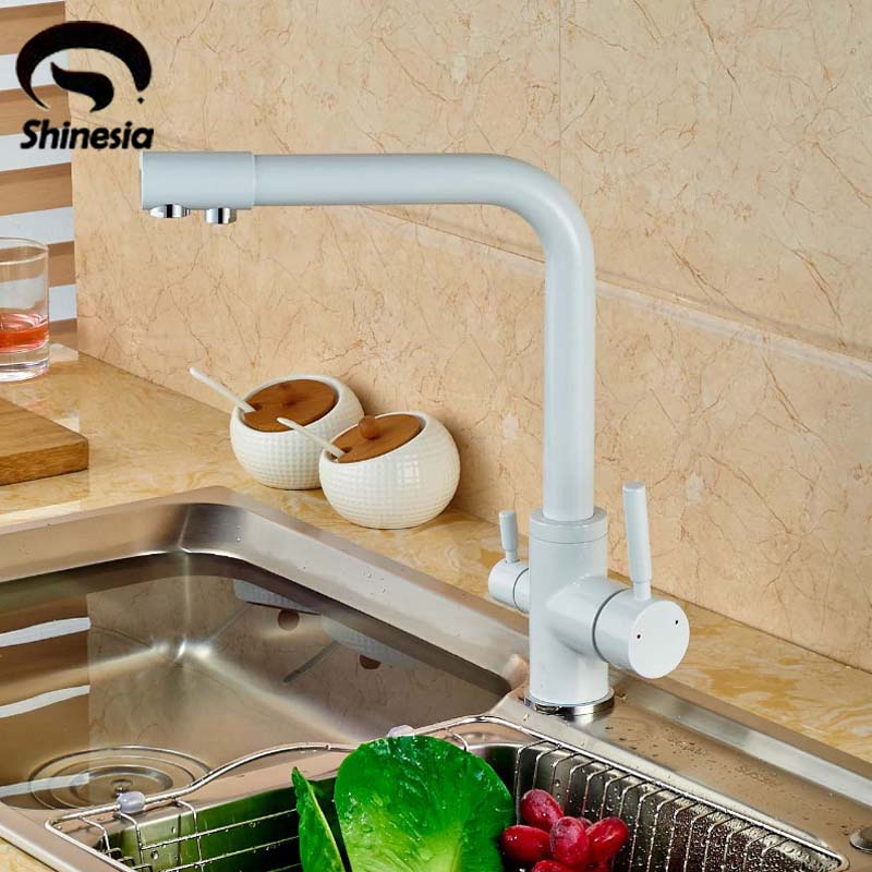 White Kitchen Sink What Color Faucet