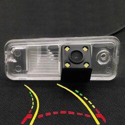אינטליגנטי דינמי מסלול מסלולים רכב אחורי תצוגת מצלמה עבור יונדאי סנטה Fe IX25 Azera Carens Creta גרנד SantaFe IX45 XL HG