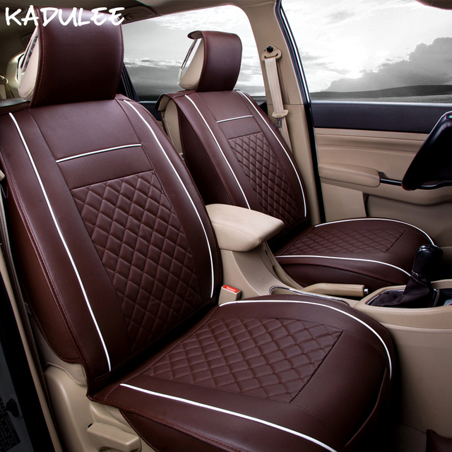 Kadulee Pu Leather Car Seat Covers For Subaru Outback Great Wall Hover H5 H6 H7 H9