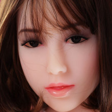 silicone doll head in Sex Dolls,sexy lips,Tongue,adult toys for men,,oral depth 13cm,Fit body :153,156,158,160,161,163,165,168cm